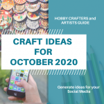 Craft ideas for October 2020 | Social Media Planner