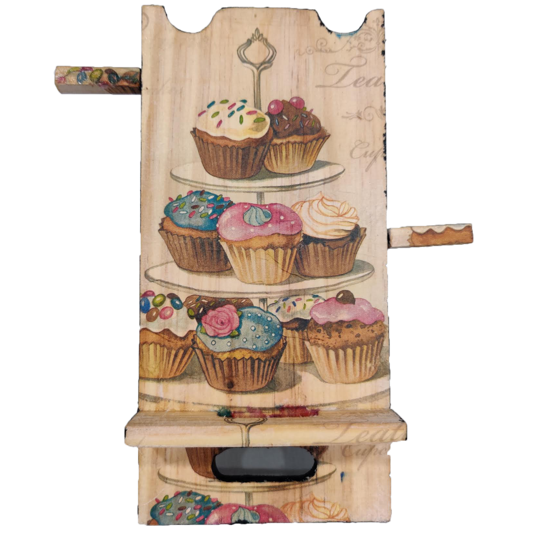 mobile stand D- Cup Cake